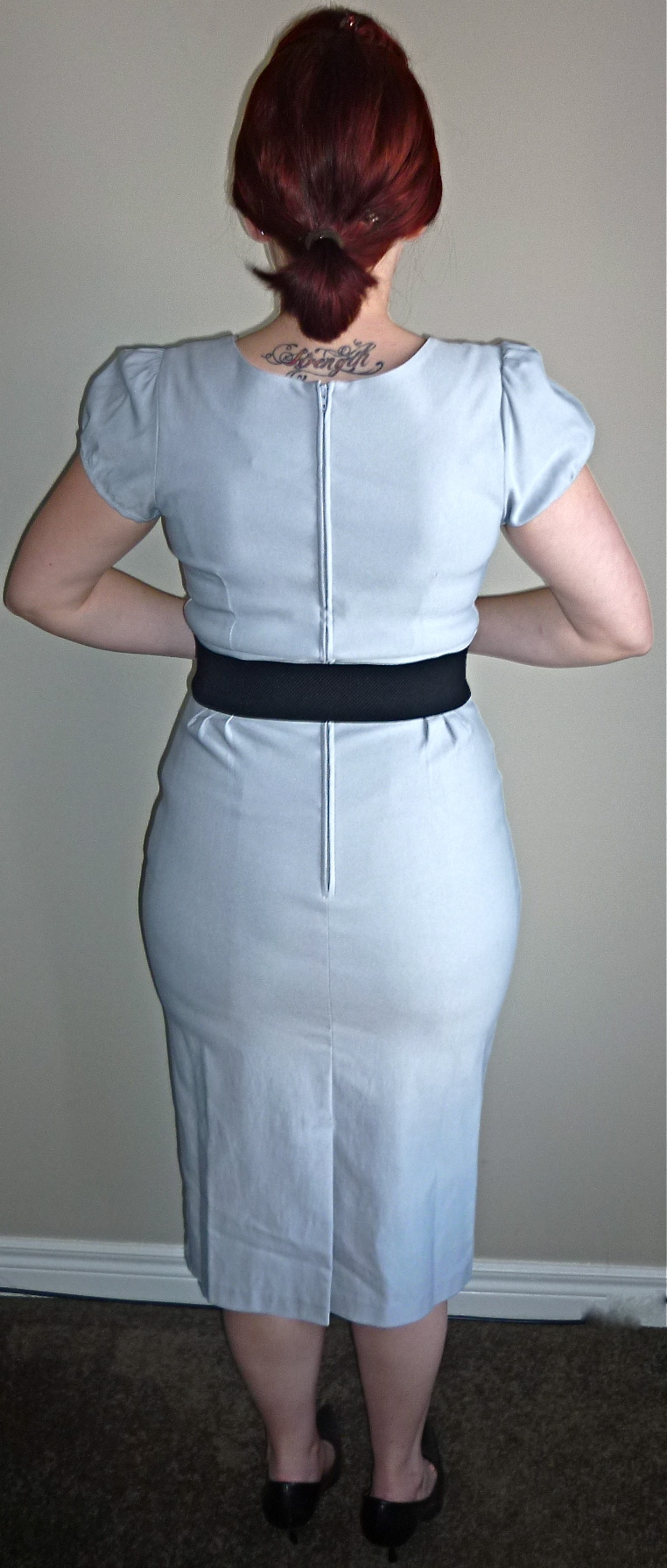 suspender bumps Back View