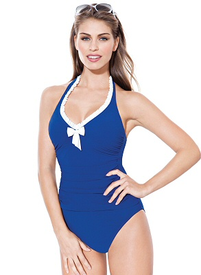 Deep Sea High Waist Tankini by Gottex Profile