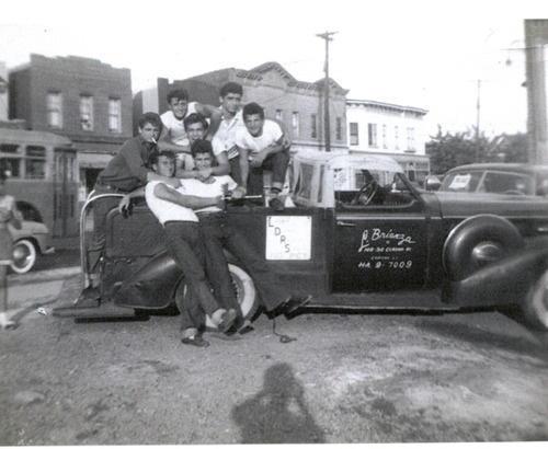 Teen Boys and Their Car
