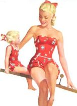 Image result for pin up mother