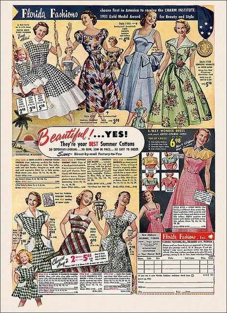 Florida Fashions 1951 photo