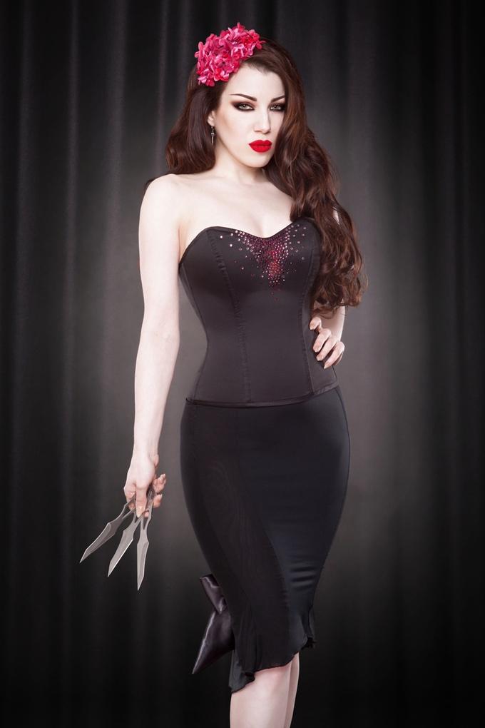 Demi corset (crystal variation)